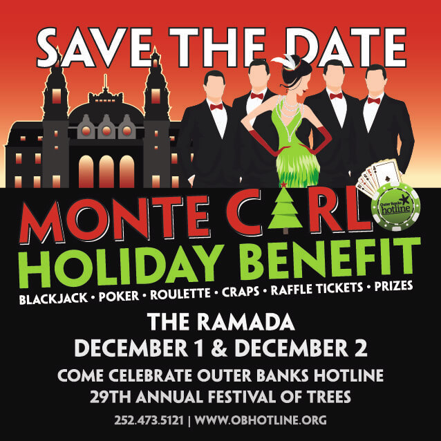 Monte Carlo Benefit OBX Festival of Trees
